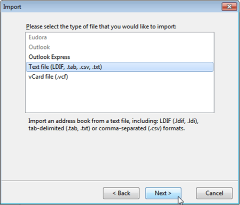Thunderbird on desktop | HELP CENTER