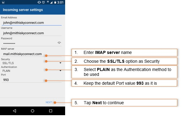 Blue Mail on Android | HELP CENTER